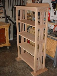 Arts & Crafts Bookcase