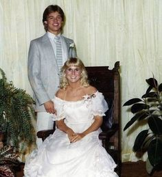 Celebrity Prom Photos Prove Awkward and Awesome Can Coexist! | moviepilot.com....Brad Pitt