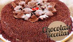 Recheio de Chocolate. - Mauro Rebelo: Esta é a minha receita de recheio de chocolate. Na realidade serve para aplicar como recheio e a cobertura de um bolo de chocolate tipo brigadeiro. Chamo esse recheio de Brigadeiro Mole.