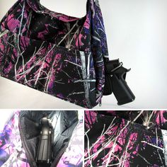 Concealed Carry Bag made with Muddy Girl