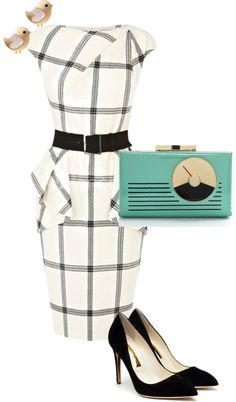 """""""black and white."""" by settingmoon on Polyvore"""