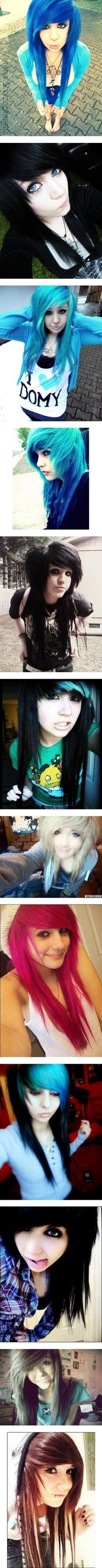 Pin by jovana on emo hairstyle pinterest