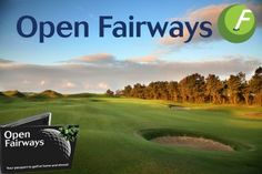 Today's Deal 5/2/14: Open Fairways Privilege Card, giving you half-price green fees for 12 months (£19) or 18 months (£25) – save up to 81% on the ultimate golfing companion!  http://www.dailygolfdeal.co.uk/deals/deals/opefairswaystwodeal/