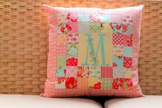 The Cottage Home: Patchwork Pillow Pattern and Tutorial
