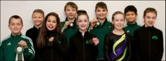 Campbell River Gymnastics Association athletes who too part in the Winter Games trials included, back left, Brooklyn Batch, Quinn Kuschel-Ross, Liam Deagle and Riley Michael. Front left, Carson Ogg, Janika Scriba, Reese Wheeldon, Brianna Pollock and Mackenzie Henderson. [Courier-Islander]