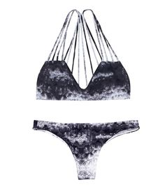 From the strappy top to the enchanting print, this swimsuit is a no-brainer. // Bikini by Mikoh