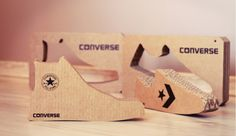 Ecological display for All Star Converse on Behance