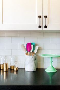 Wipe down countertops: http://www.stylemepretty.com/living/2015/04/13/a-simple-spring-cleaning-checklist/