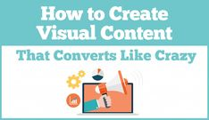 A list of tips and hacks for creating effective visual content that drives traffic and conversions. Digital Marketing Strategy, Content Marketing, Online Marketing, Social Media Marketing, Marketing Ideas, Visual Learning, Learning Centers, Business Advice, Business Coaching