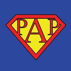 Vaderdag kaart - Super papa