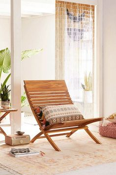 Slide View: Bianca Chair from Urban Outfitters Decor, Furniture, Accent Chairs For Living Room, Living Room Chairs, Beach Chairs Diy, Lounge Chair Outdoor, Chair, Home Decor, Small Comfy Chair