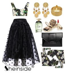 """""""Untitled #541"""" by adda21 ❤ liked on Polyvore featuring Dolce&Gabbana, Armani Exchange, Givenchy and Sheinside"""