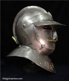 Siege-weight Cuirasser Savoyard helmet.jpg (516×600)