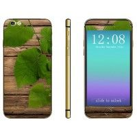 $4.98 Designed to fit the contours of the 4.7'' iPhone 6        Decorated with wood grain and green leaves patte