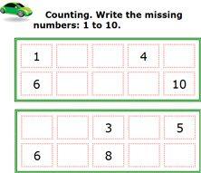 math worksheet : number line games for kindergarten  the numbers 6 10 have your  : Kindergarten Math Counting Games