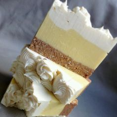 I can't believe this is soap!  Lemon Meringue Pie by Cleanse With Benefits
