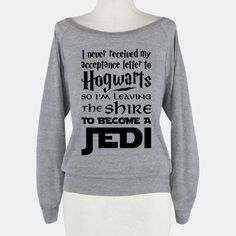 Hogwarts Shire Jedi | HUMAN | T-Shirts, Tanks, Sweatshirts and Hoodies