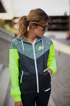 Nike Windrunner Jacket - $90 Nordstrom  {Hello Fashion: Work Out Wear: Weekend Style}