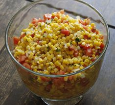 Light Summer Corn Salad