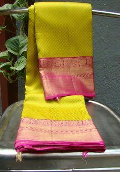 House of Tamara 😍😍 Ethnic Sarees, Indian Silk Sarees, Pure Silk Sarees, Cotton Saree, Silk Saree Kanchipuram, Kanjivaram Sarees, Indian Attire, Indian Outfits, Indian Clothes