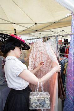 Queen of Burlesque Dita Von Teese Takes Us Antiquing - Racked LA
