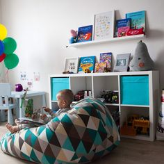 Toddler Rooms, Baby Boy Rooms, Baby Room, Girl Nursery, Girls Bedroom, Bedroom Decor, Ikea Stuva, Ideas Habitaciones, Activity Room