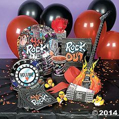Rock Star Deluxe Party Pack