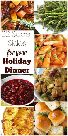 turkey may be the main event but side dishes are just as important check - Christmas Side Dishes Pinterest