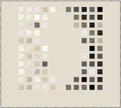 Color Chart, free pattern, Luster Stoffe, Zen Chic, Bernina