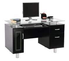 Sutton Executive Desk like the space in between.. for current work ..or to do  list..etc