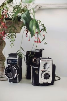 Vintage Cameras - Here'€™s to capturing that moment on camera!