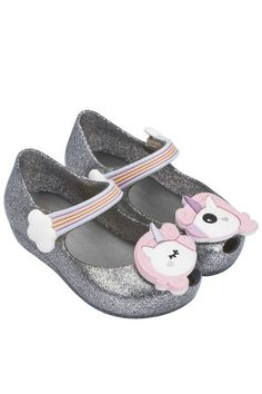 When it's a Unicorns & Rainbows kind of day!! Mini Melissa Unicorn Shoe Collection at shopinjoy.com