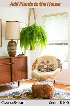 Add plants to the house. Placing plants on shelves and counters throughout a property immediately makes it more homely, whilst also improving air quality and assisting with breathing. Though there is a limit: your home should not resemble a rainforest! #RealEstate #ValueofHome #Plant