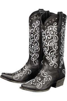Lane Women's Black Willow Cowgirl Boots | Women's Boots