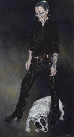 Sue Taylor: eX and reg :: Archibald Prize 2007 :: Art Gallery NSW