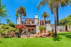 La Jolla house rental - Spanish Villa home in Windansea has a 3,000 SF yard and Ocean Views!