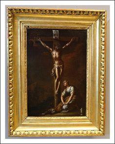 Crocifissione con Maddalena, area veneta primi 700