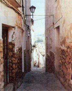 Calles del barrio de La Vila