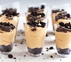 Pudding Dessert Shots