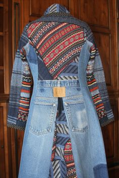 Recycled Sweaters and Denim Jeans