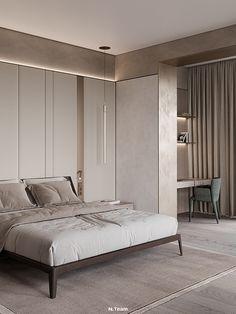 Interior Walls, Modern Interior, Interior Architecture, Interior Design, Furniture Layout, Furniture Design, Warm Color Schemes, Interior Concept, Living Room Kitchen