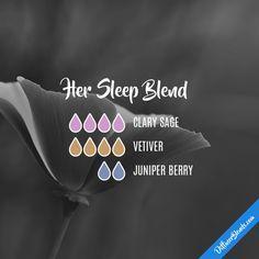 Her Sleep Blend - Essential Oil Diffuser Blend