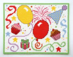 How to make party place mats in plastic canvas for holidays, birthdays and more!