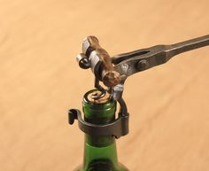 Hand Forged Lever Action Wine Bottle Opener