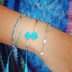 WEBSTA @ jiyajewellery - Aquamarine and silver perfection!