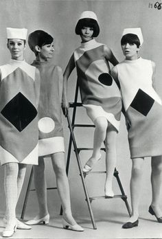 1966 Pierre Cardin fashion