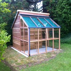 Gabriel Ash Classic Grow and Store - Wood Frame Greenhouses