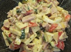 Schinken-Käse-Salat