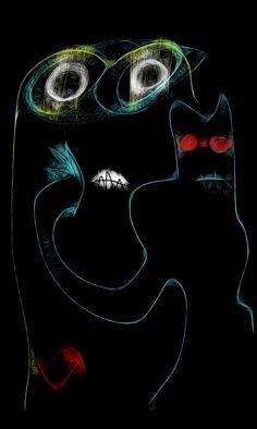 """Darkman & FrynZ"" by Richard F. Yates"