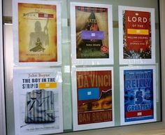 Library Displays: Missing Book Titles